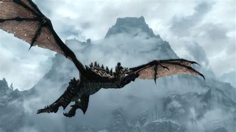 Elder Scrolls V Skyrim Dragonborn Trailer Features Dragon