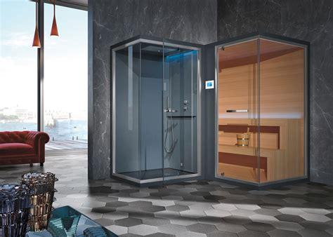 Sauna Doccia by Il Gruppo Geromin Presenta Ethos C La Nuova Sauna Con