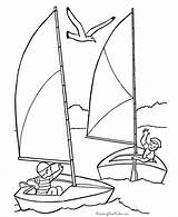 Pages Coloring Boat Boats July Sailboat Sailing Printable 4th Voilier Sail Clipart Drawing Coloriage Printables Sheets Dessin Fourth Colorier Activities sketch template