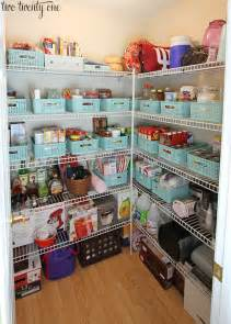 How To Organize A Shared Closet by Pantry Organization