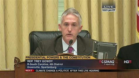 trey gowdy height bio images