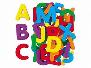 Giant magnetic letters uppercase baby kids pinterest for Giant magnetic letters