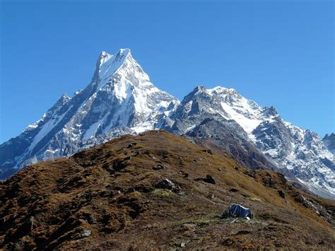 mardi himal base camp trek newly opened trek  nepal