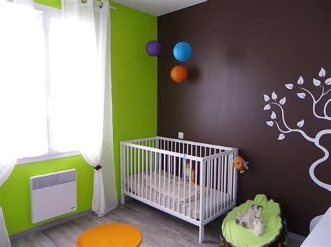 chambre bébé verte chambre bébé thème nature photo 1 9 3504169