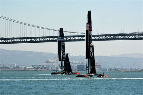 Oracle Boat by Oracle Team Usa