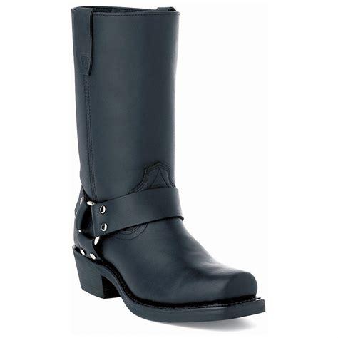 ladies black motorcycle boots women 39 s durango boot 11 quot harness crossroads boots black