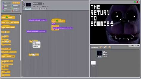 how to make fan made videos how to make a fnaf fan made game in scratch title screen
