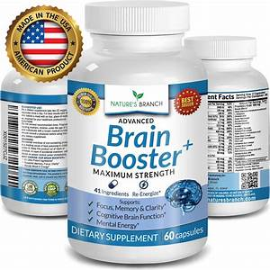 Advanced Brain Booster Supplements 41 Ingredients Memory Focus  U0026 Clarity    646437303682