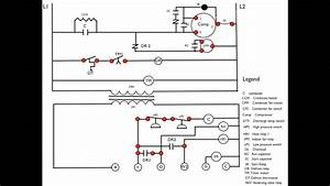 Heat Pump First Stage Heat Wiring Diagram