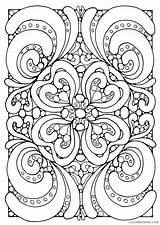Mandala Square Coloring Pages Printable Getcolorings Getdrawings sketch template