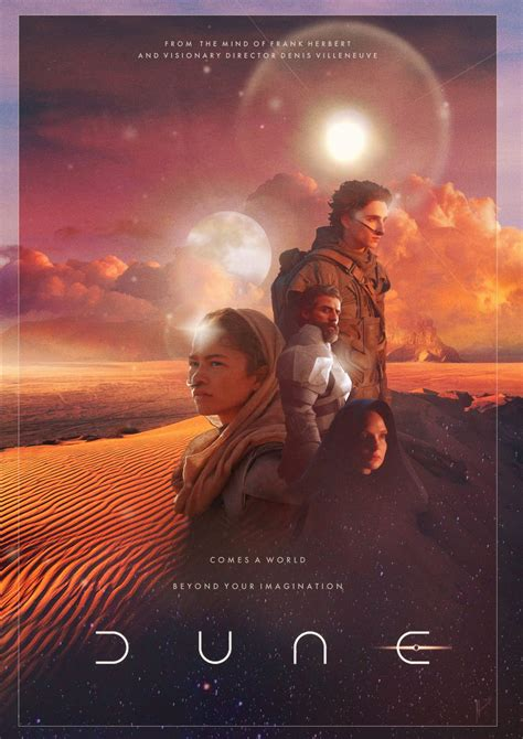 Dune is a science fiction media franchise that originated with the 1965 novel dune by frank herbert and has continued to add new publications. Dune 2020 - PosterSpy