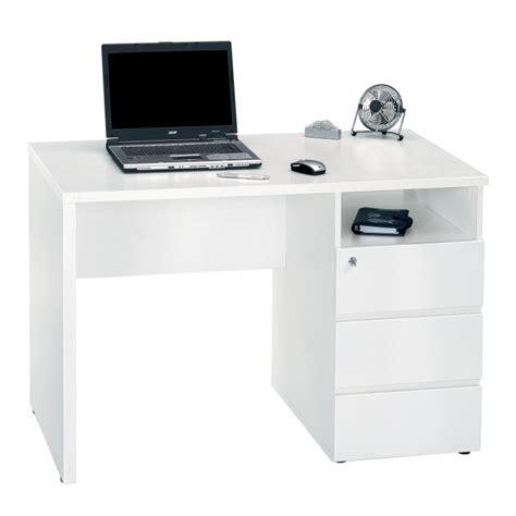 m ro bureau bureau clyde blanc home24 fr