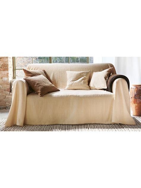 Peter Hahn  Überwurf Für Couch Und Bett, Ca 160x270cm Ecru