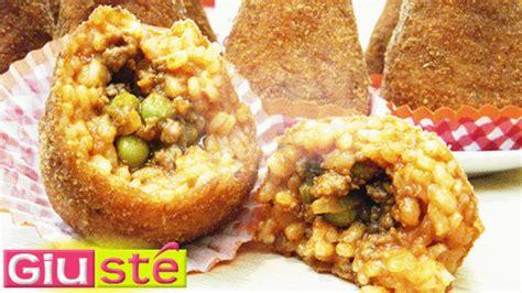 cuisine sicilienne traditionnelle arancinis au ragoût recette sicilienne giusté cuisine