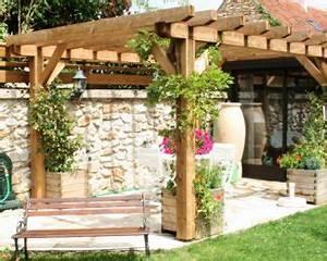 Pergola Pour Plante Grimpante : fleurir et habiller la fa ade de plantes grimpantes les ~ Premium-room.com Idées de Décoration
