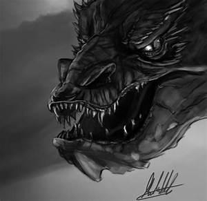 The Hobbit: Smaug fanart by xynode on DeviantArt