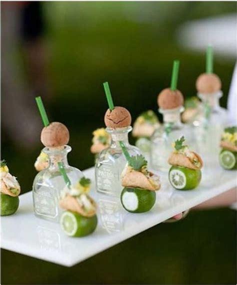 prawn cocktail canapes 22 unique wedding bar design ideas