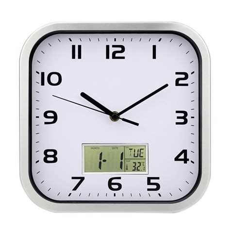 kitchen wall clock square kitchen wall clocks best decor things