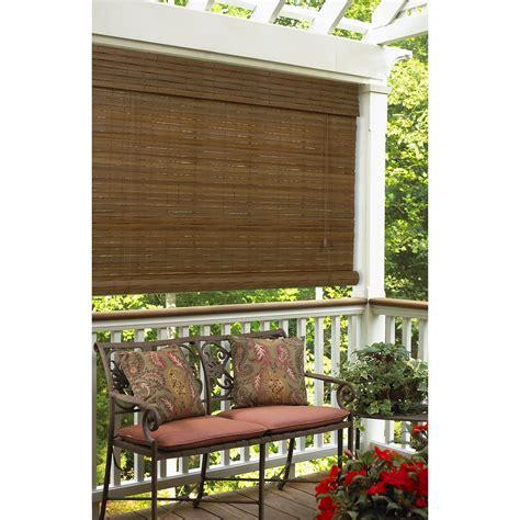 bamboo porch shades bamboo shades for screened porch