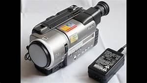Sony Ccd-tr3200e Pal Hi8 Video Camera Recorder