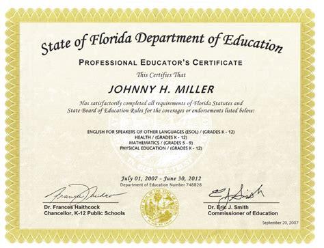 bureau of educator certification my career