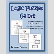 137 Best Images About Logic Puzzles For Kids On Pinterest  Early Finishers, Logic Problems And