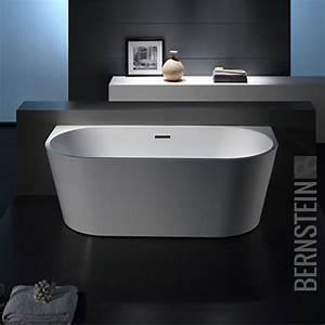 Freistehende Armatur Wanne : bernstein design badewanne freistehende wanne nova acryl ~ Michelbontemps.com Haus und Dekorationen