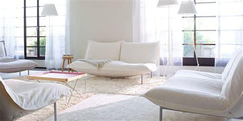 cinna canapes canapé blanc notre shopping complètement design