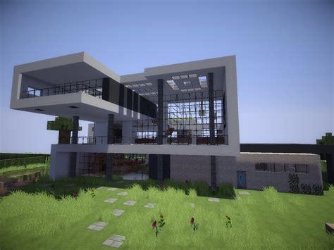 Moderne Schmale Häuser by Minecraft Villa Modern Bauplan