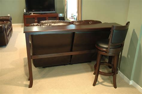 Sofa Bar Table Perfect Behind The Couch Bar Table 33 For