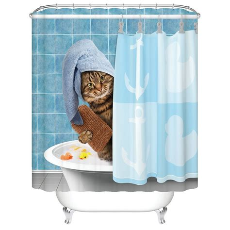 awesome shower curtains shower in style with these 8 totally awesome cat shower