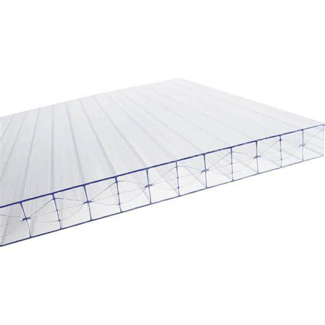 plaque plat polycarbonate translucide carboglass l 0 98 x l 3 m leroy merlin