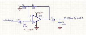Operational Amplifier - Op Amp Level Shift Circuit Diagram