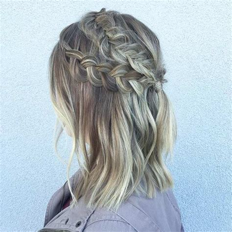 17 chic braided hairstyles for medium length hair page 2 of 2 stayglam