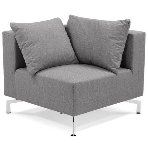 canapé voltaire coin de canapé voltaire corner gris canapé modulable