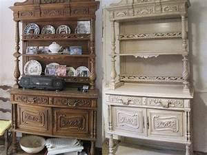 Relooking Meuble Ancien : r novation vaisselier vaisselier henri ii avant apr s ~ Melissatoandfro.com Idées de Décoration
