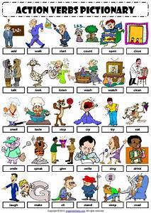 English Vocabulary - action verbs - | English, Action ...
