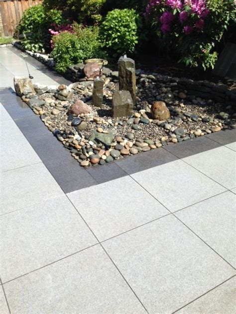 outdoor porcelain tile contemporary patio vancouver