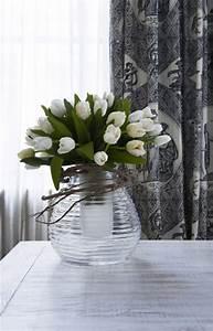 bouquet tulipe artificiel sia piscine et jardin With decoration de bassin de jardin 16 marguerite bouquet fleur artificielle