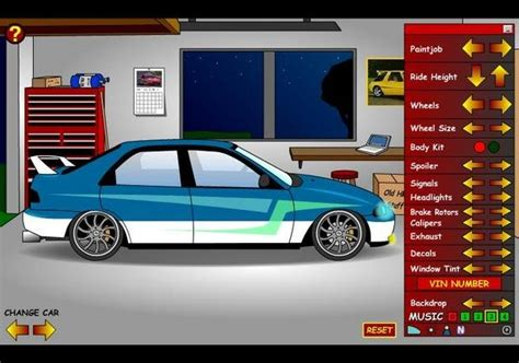 create  ride car games  top speed
