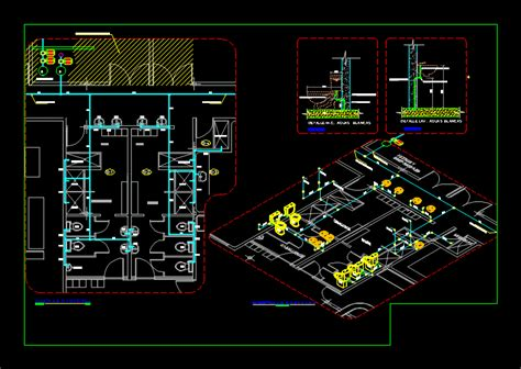 white water bottling plant dwg block  autocad designs cad