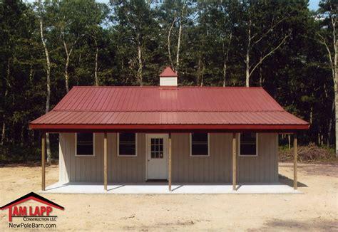 building pole barn residential polebarn building mays landing tam lapp