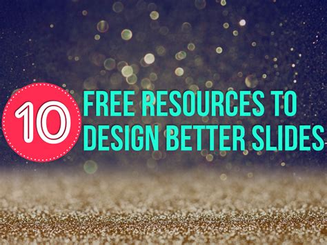 free design resources no excuses design slides like a chion courtoconnell