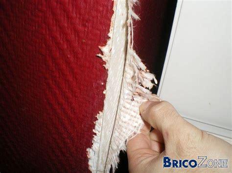 enlever du papier peint en fibre de verre