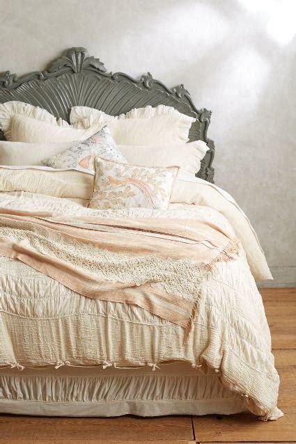 bertilia white ruched duvet