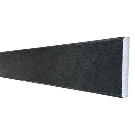 4 x 24 saddle threshold absolute black granite