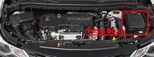 Fuse Box Diagram Chevrolet Cruze  J400  2016