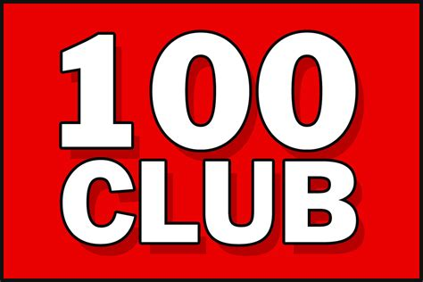 100 Club Draw Results For January