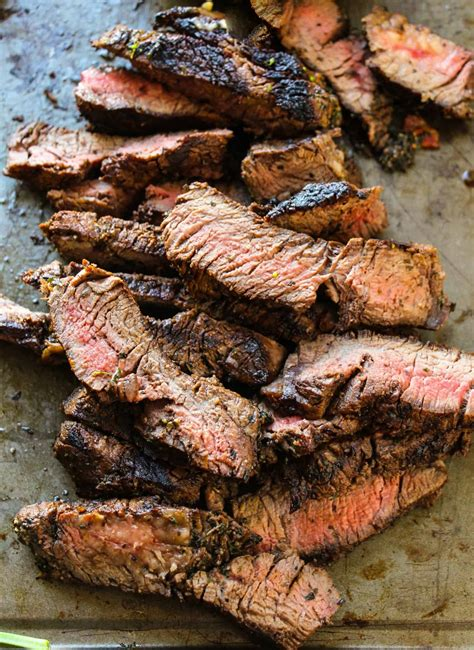 simple flank steak marinade layers  happiness