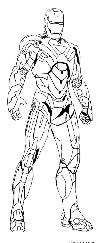 iron man colouring pictures  print  kidsfree printable coloring pages  kids